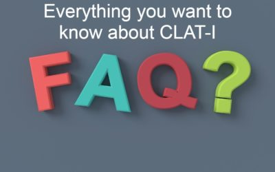 CLAT-2020 Frequently asked Questions(FAQ's)-I